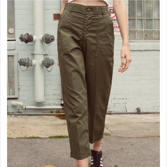 89face111c5a Brandy Melville Pants - Brandy Melville Kim Military Pants